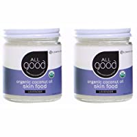 All Good Organic Coconut Oil Skin Food w/Lavender - Natural Moisturizing Skin Care...