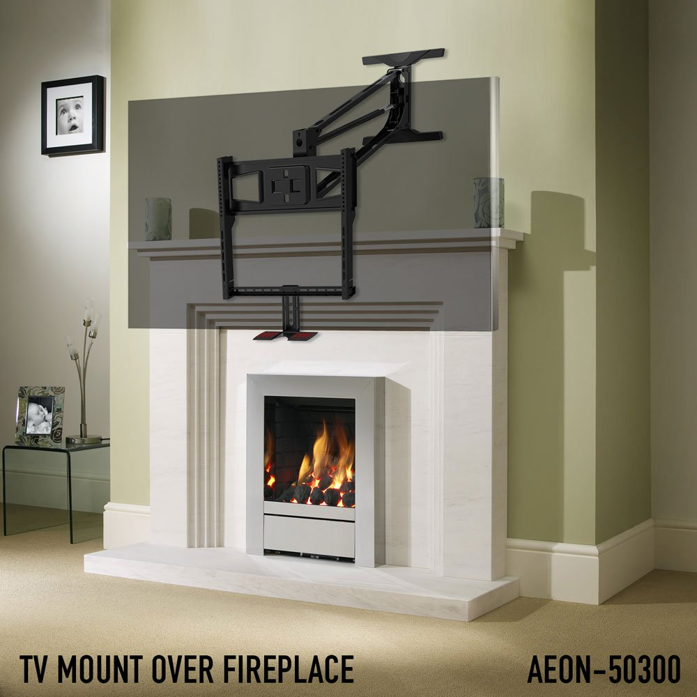 Amazon Pull Down Tv Mount For Fireplace Aeon 50300 Home