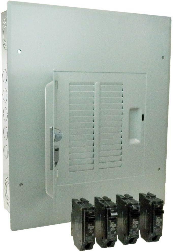 12 Circuit 22 Space 100 Amp Indoor Electric Main Breaker Load Center Panel Box