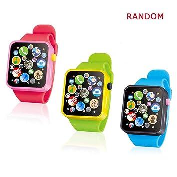 Amazon.com: KOBWA - Reloj con botón táctil para música ...