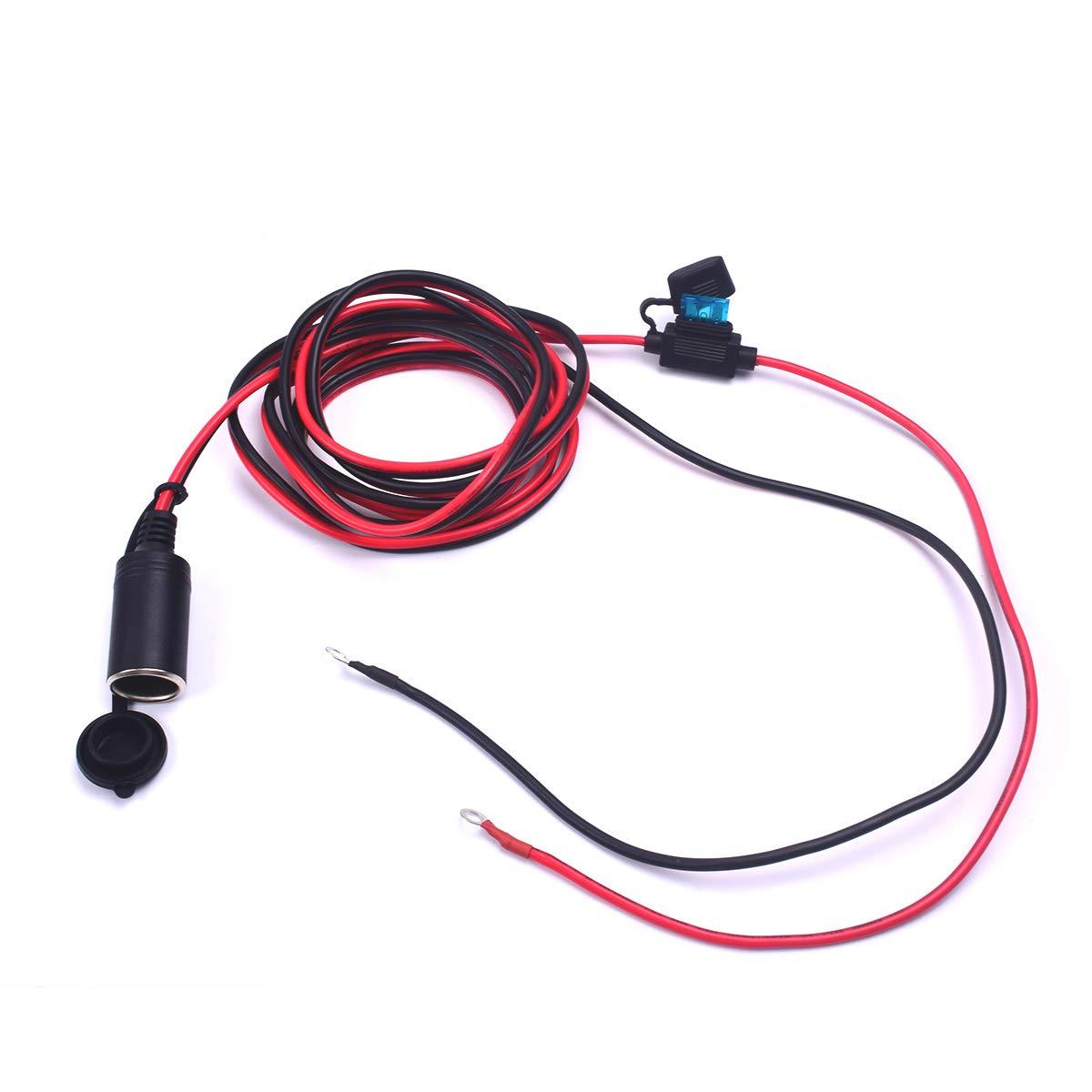 Amazing Amazon Com Premuim Auto Cigarette Lighter 12V Plug Socket Car Power Wiring Digital Resources Inamapmognl