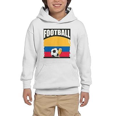 Football Beer Soccer Colombia Youth Unisex Hoodies Print Pullover Sweatshirts