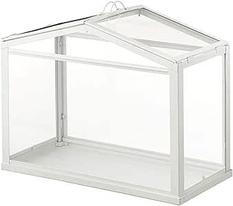 Invernadero IKEA Socker, tamaño mini, de mesa, con marco de