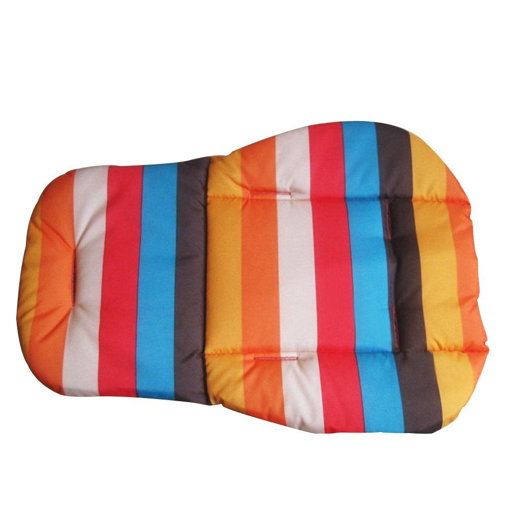 Cochecito de beb/é para cochecito de beb/é asiento de trona impermeable coj/ín grueso de algod/ón colorful