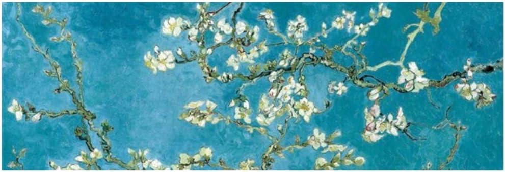 LiangNiInc Cuadro en Lienzo Blooming Almond Tree Posters Print Wall Art Cuadro en Lienzo Cuadro Famoso Cuadro Decorativo Habitación 60x180cm (23.6