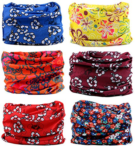 kingree-6pcs-outdoor-multifunctional-sports-magic-scarf-high-elastic-magic-headband-with-uv-resistan