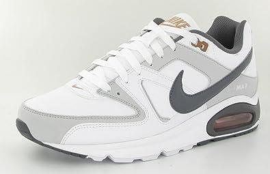 Nike Air Max Command, Sneaker Uomo Bianco Bianco 6,5 UK