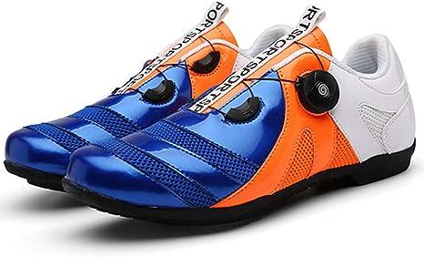 QXue Zapatillas Ciclismo Carretera Unisex Adulto Suela de Goma Sin Cerradura Adecuado para Ciclismo/Senderismo/Pesca/Correr al Aire Libre: Amazon.es: Deportes y aire libre