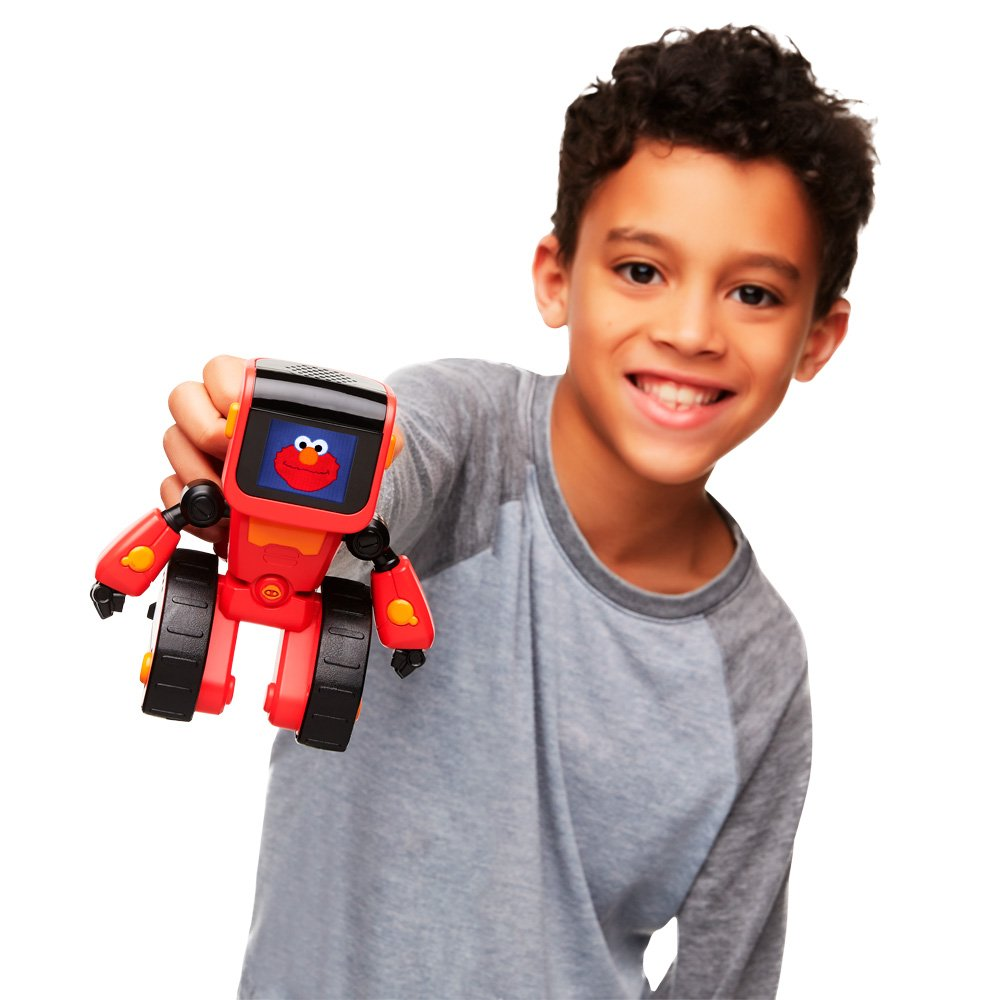 WowWee Elmoji Junior Coding Robot Toy, Red by WowWee (Image #2)