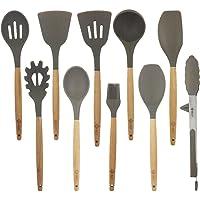 BGT 10 Pcs/Set Silicone Kitchen Utensils Set Deals