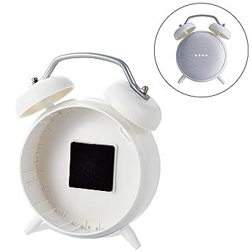 ELECOM-Japan Brand- Google Home Mini ClockStand Stand Type White AIS-GHMCLWH