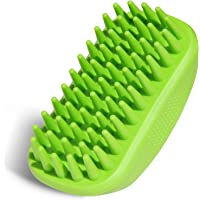 Premium Pet Shampoo Brush Great Grooming Comb for Shampooing and Massaging Dogs, Cats, Horse with Short or Long Hair…