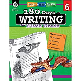 Amazon.com: 180 Days of Writing for Sixth Grade - An Easy-to ...
