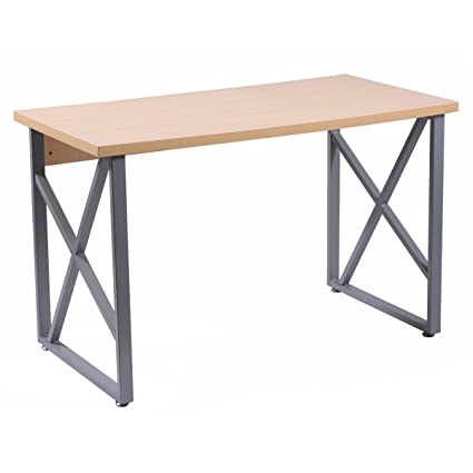 Tangkula Computer Desk PC Laptop Home Office Modern Simple Style Wood Study  Workstation Writing Table Wooden