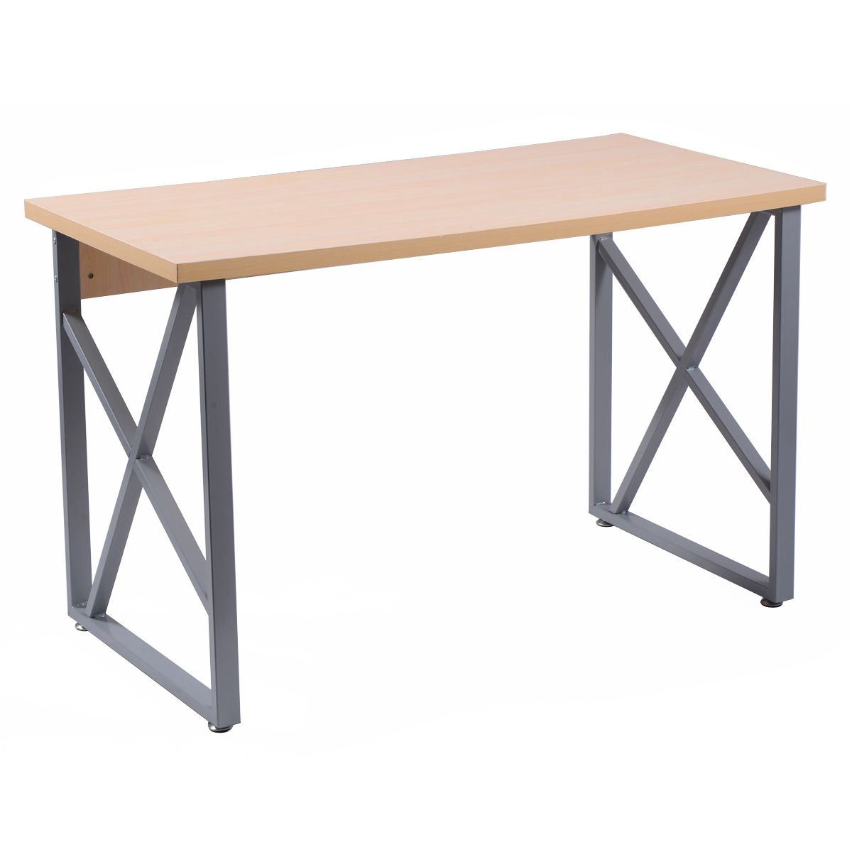 NEW Wooden color Computer Desk PC Laptop Table Writing Study Workstation Home Office Furniture