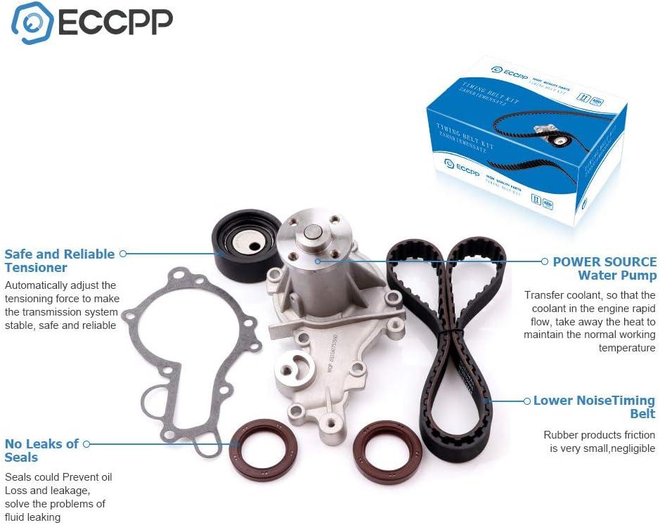 MOCA Timing Belt Kit Water Pump Fit 85-98 Sprint 87-95 Suzuki Samurai 1.0L 1.3L 8V G13A