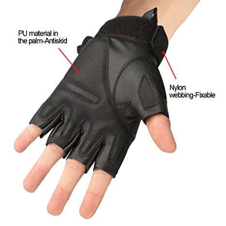 Back To Search Resultsapparel Accessories Military Tactical Gloves Fighting Combat Anti-skid Black Half Finger Gloves Fitness Hunting Climbing Motorcycle Cycling Glove Spare No Cost At Any Cost