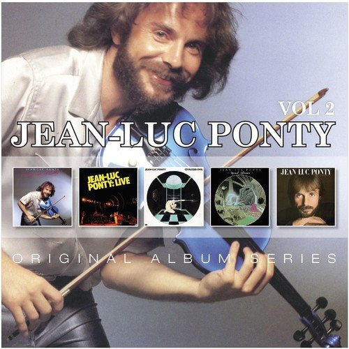 CD : Jean-Luc Ponty - Original Album Series (Germany - Import, 5 Disc)