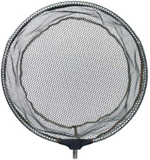Filet /à balles Grand filet de cuisse Filet /à balles Pliable Filet de p/êche Filet Tamo T/ête avec filetage type tri-pliage HNJZX /Épuisette pliante avec cadre en aluminium et rev/êtement en caoutchouc Cadre en aluminium