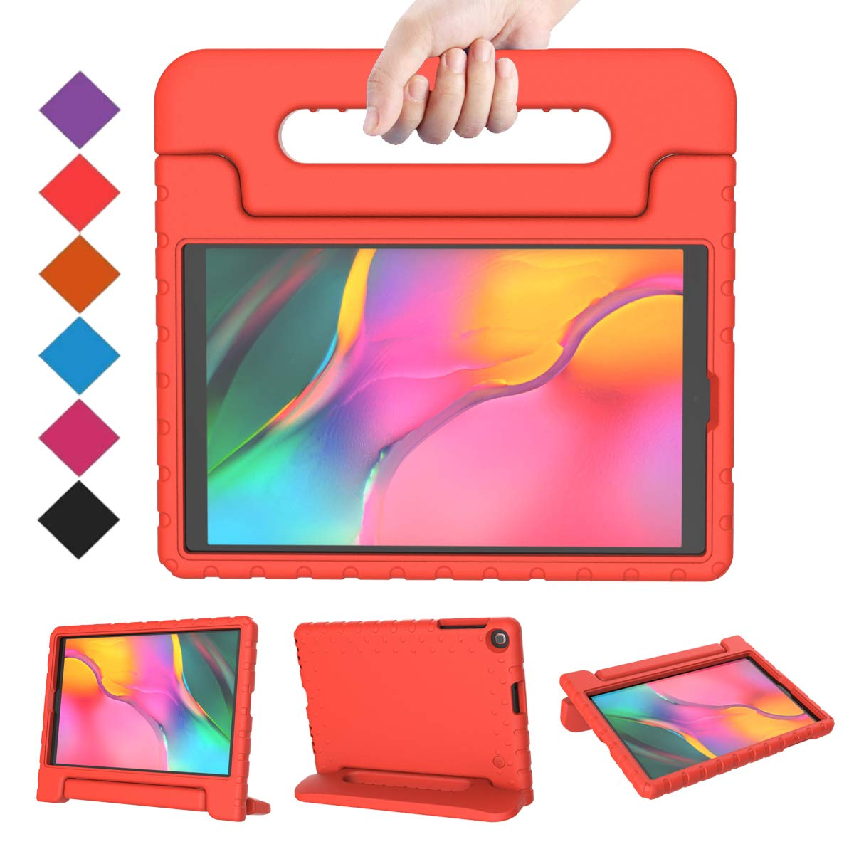 Funda Para Samsung Galaxy Tab A 10.1 Sm-t510 (2019) Roja