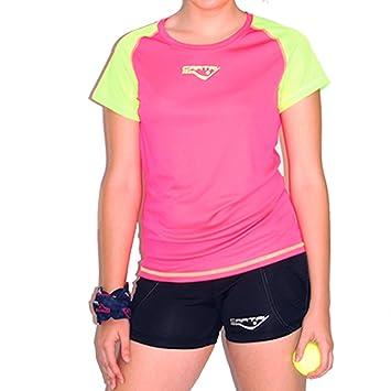Camiseta Padel y Tenis CARTRI - Camiseta/M Coach 2.0 Fucsia/Lime: Amazon.es: Deportes y aire libre
