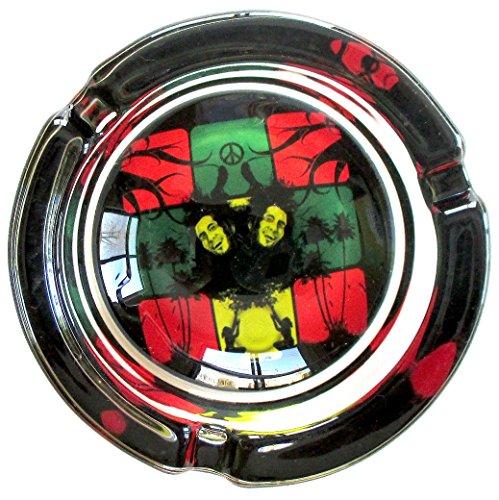 Bob-Marley-Peace-and-Love-Marijuana-Weed-Round-Glass-Ashtray