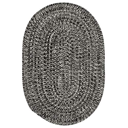 Colonial Mills Cameron Tweed Reversible Area Rug Stonewashed 5' x 8' Oval 5' x 8'