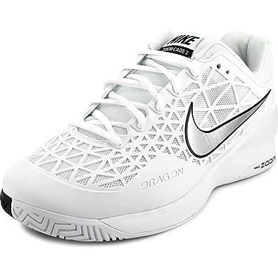 2e95bd759ec6e8 Nike Zoom Cage 2 Men s Tennis Shoe 7.5 US White