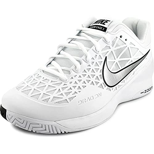 sports shoes 1933f 14142 Nike Zoom cage 2 Mens Tennis Trainers 705247 Sneakers Shoes (UK 8 US 9 EU
