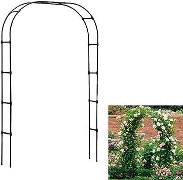 Arco Puerta Soporte De Flores Simplicidad Nórdica Marco De Escalada Para Decoracion Jardin,Blanco,Big: Amazon.es: Bricolaje y herramientas