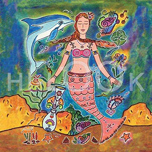 Hi-Look Microfiber Cleaning Cloth, Fantasy design - Mermaid of Fantasy