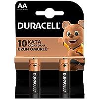 Duracell Alkalin AA Kalem Piller, 2'li paket
