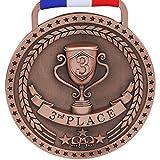 large gold medal - 3rd Place Winner Bronze Award Medal, Antique Bronze