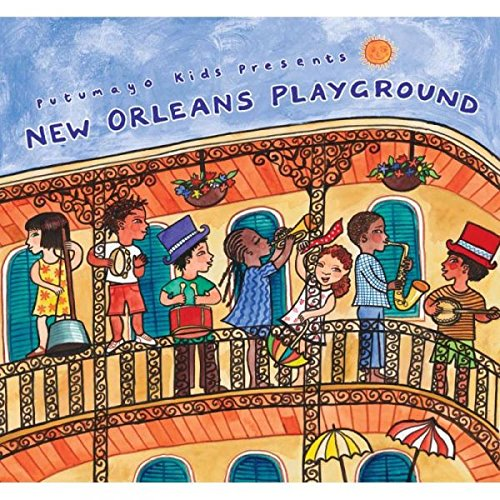 CD : Putumayo Kids - New Orleans Playground (CD)