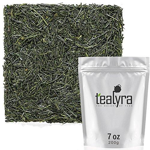 Tealyra - Gyokyro Shizuoka Japanese - Finest Hand Picked - Green Tea - Highest Premium Tea - Loose Leaf Tea - Organically Grown - 200g (7-ounce) by Tealyra (Image #5)