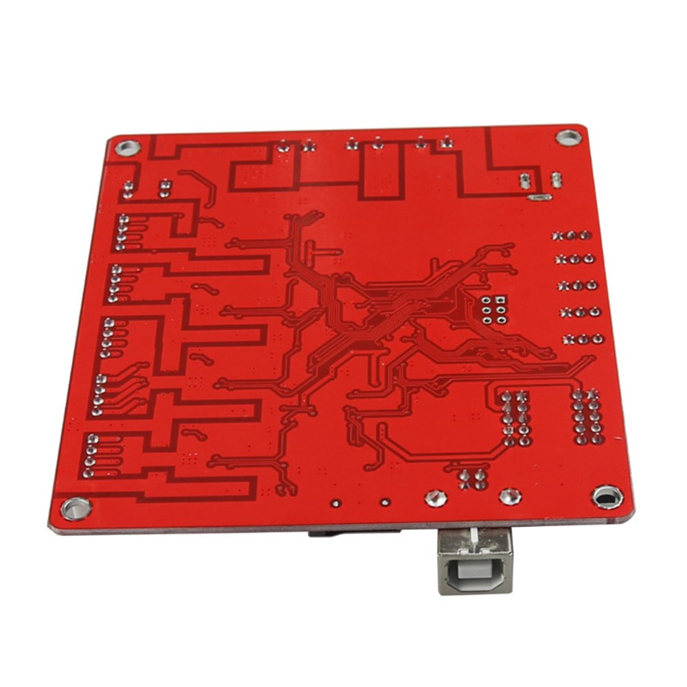 Control Mother Board Mainboard for ANET A8 DIY 3D Printer (red) by cyclamen9 (Image #2)