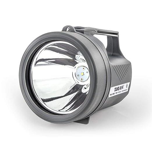 SSCJ Linterna LED Recargable Reflector Proyector portátil de Mano ...