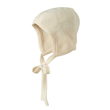 828828d3308 Amazon.com   Disana 100% Organic Merino Wool Knitted Bonnet Made in Germany  (3-6 months)   Baby Products   Baby