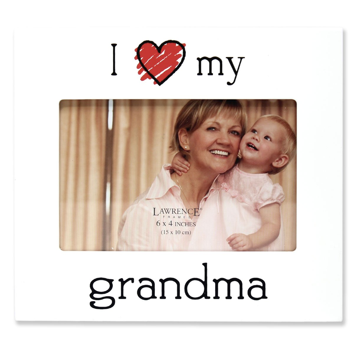Amazon.com - Lawrence Frames \'I Love My Grandpa\' Picture Frame, 6 by ...