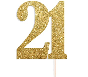 the number 21 birthday