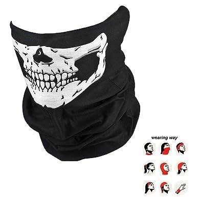 Výsledok vyhľadávania obrázkov pre dopyt Bike Motorcycle Helmet Neck Face Mask Paintball Ski Sport Headband