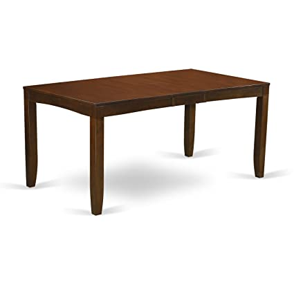 Amazoncom East West Furniture Lyt Esp T Rectangular Dining Table