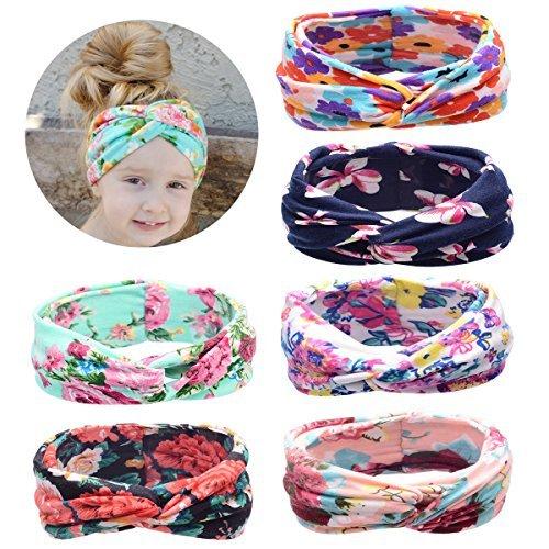 Baby Turban Headband,Baby Girl Headbands Knotted, Hairbands for Girls,Newborn,Toddler and Children