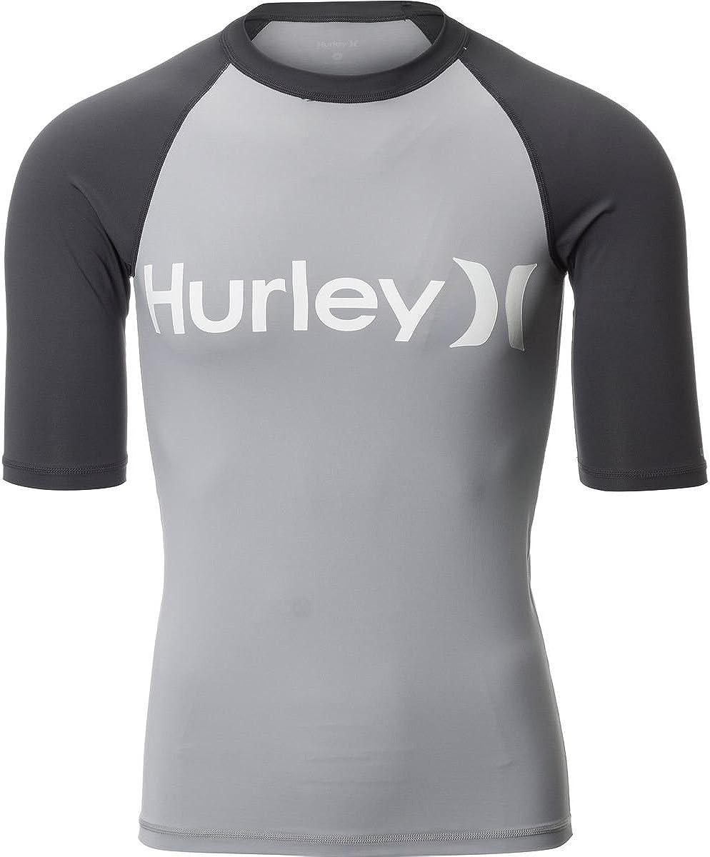 Hurley Mens Short Sleeve Rashguard MRG0000890