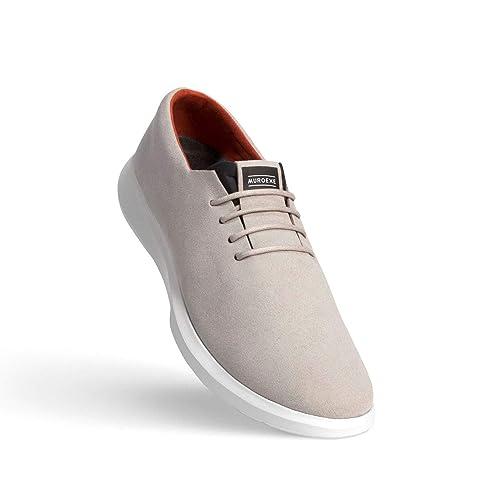 MUROEXE Materia Vector Pearl Grey Hombre Color: Gris Talla: 46: Amazon.es: Zapatos y complementos
