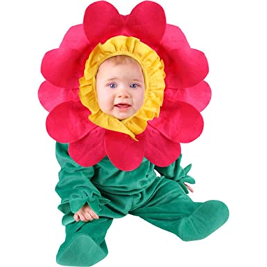 Cute Infant Baby Girl Pink Flower Costume (6-12 months)  sc 1 st  Amazon.com & Amazon.com: Cute Infant Baby Girl Pink Flower Costume (6-12 months ...