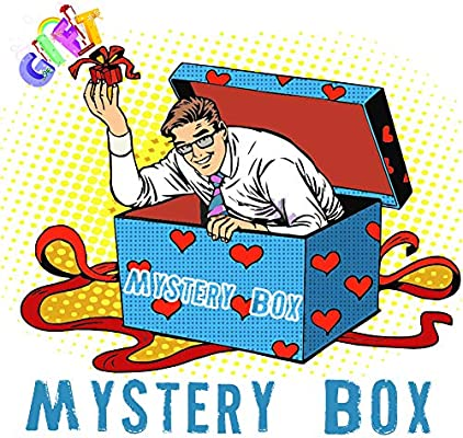 gift mystery box random items of cool stuff all new great price perfect surprise for thanksgiving christmas or birthday gifts for men