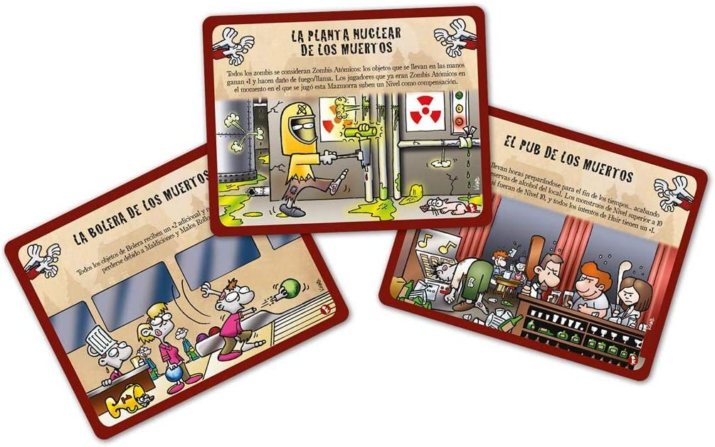 Edge Entertainment- Munchkin Zombis 3: Refugios Repulsivos (EESJMZ03): Amazon.es: Juguetes y juegos