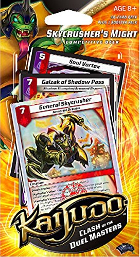 Duel Masters Trading Cards - Kaijudo Trading Card Game Clash of the Duel Masters Competitive Deck Skycrusher's Might