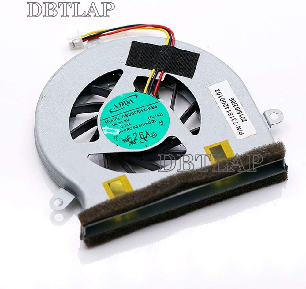 DBTLAP Fan Compatible for ADDA AB0605HX-KB3 5V 0.23A Cooling Fan TU142